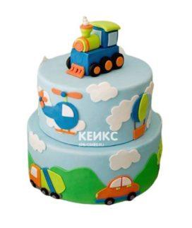 Торт Паровозик 1