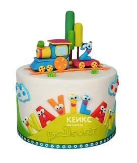 Торт Паровозик 2