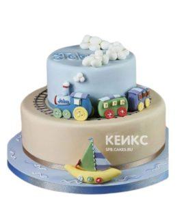 Торт Паровозик 4