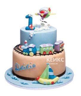 Торт Паровозик 6