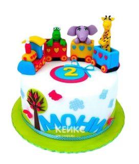 Торт Паровозик 7