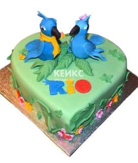 Торт Попугай 1