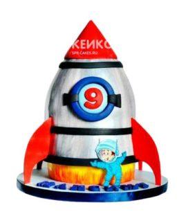 Торт Ракета 15