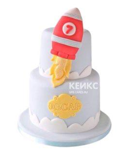 Торт Ракета 5