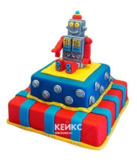 Торт Робот 4