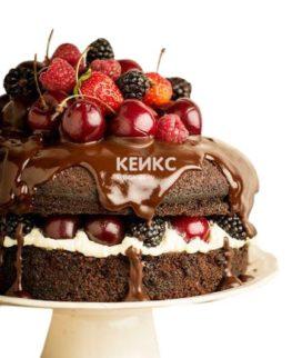 Торт с черешней