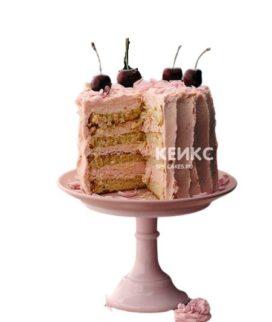 Торт с черешней 3