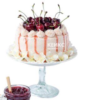 Торт с черешней 4