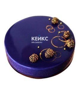 Торт с глазурью 11