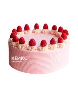 Торт с малиной 1