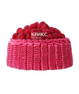 Торт с малиной 3