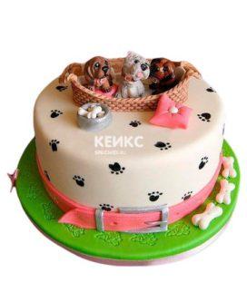 Торт Щенок 13