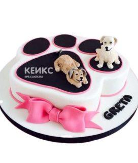 Торт Щенок 17