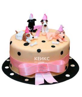 Торт Щенок 18