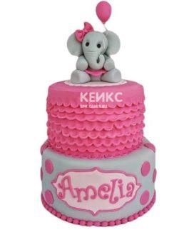 Торт Слон 7