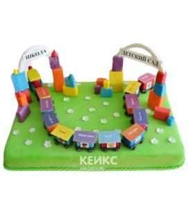 Торт в детский сад 5