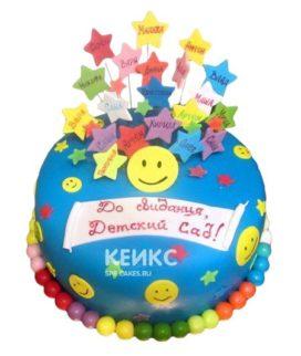 Торт в детский сад 8
