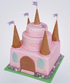 Торт Замок 4
