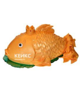 Торт Золотая рыбка 2