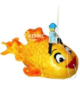 Торт Золотая рыбка 8