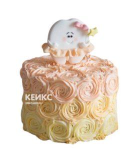 Торт Зубик 4