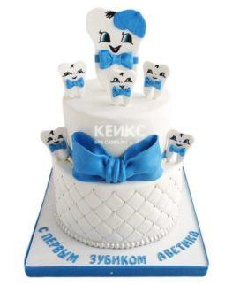 Торт Зубик 6
