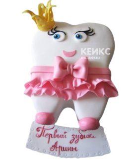 Торт Зубик 7