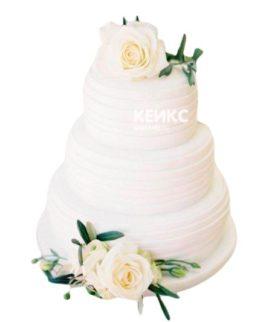 Весенний свадебный торт 14