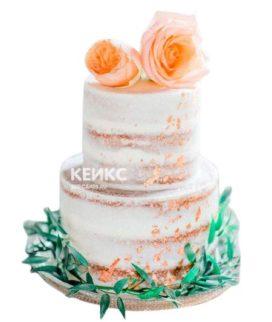 Весенний свадебный торт 2