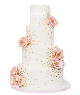 Весенний свадебный торт 7