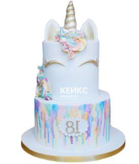 Торт Единорог 23