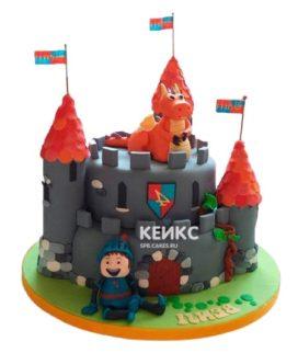 Торт Крепость 10