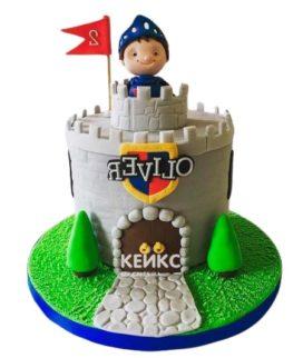 Торт Крепость 11