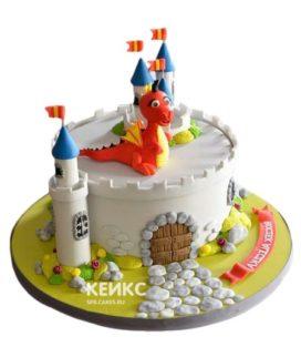 Торт Крепость 2