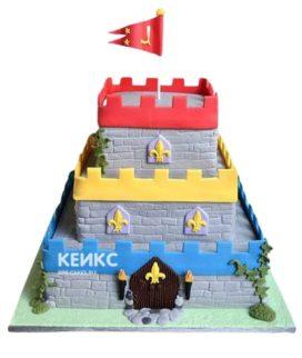 Торт Крепость