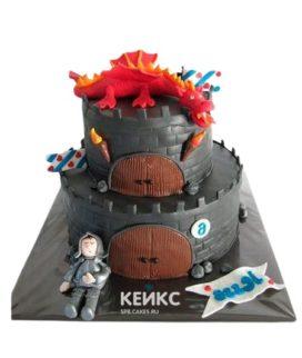 Торт Крепость 3