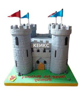 Торт Крепость 4