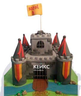 Торт Крепость 6