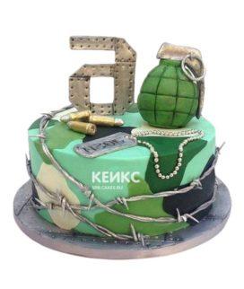 Торт военный 4