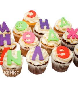 Капкейки на день рождения 12
