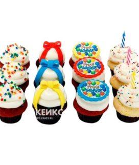 Капкейки на день рождения 15