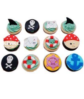 Капкейки пиратские 4