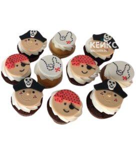 Капкейки пиратские 7