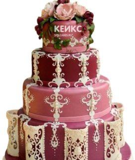 Свадебный торт марсала 6
