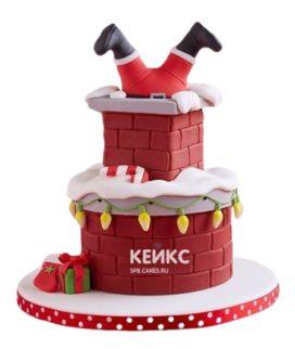 Торт Дед мороз 1