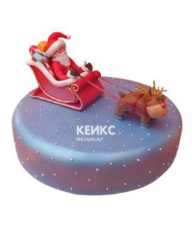 Торт Дед мороз 10