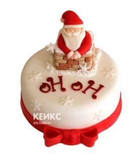 Торт Дед мороз 4