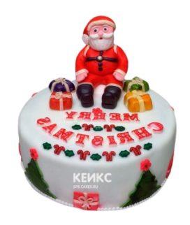Торт Дед мороз 5