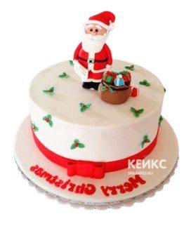 Торт Дед мороз 8