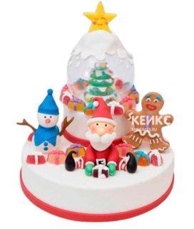 Торт Дед мороз 9